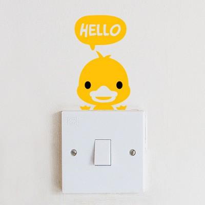 [아빠곰스티커]안녕오리