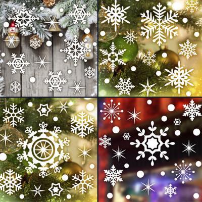 제제데코 크리스마스 눈꽃 스티커 장식 CMS4J105