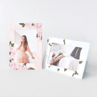 스탠딩 페이퍼프레임 - 4x6 더 플라워 5매 (종이액자)