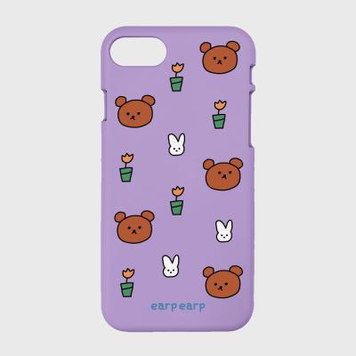 Bear and rabbit-purple(color jelly)