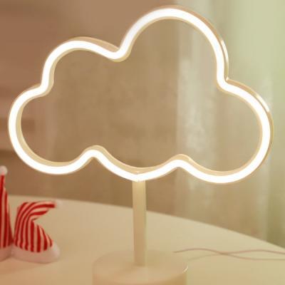 LED 네온 전구 USB 조명등 (구름)
