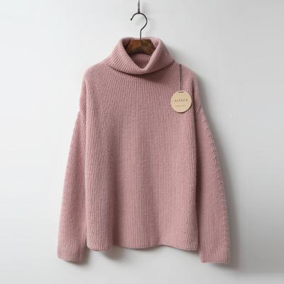 Alpaca Wool Turtleneck Sweater