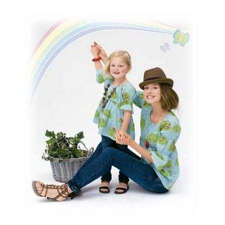 엄마와 함께 입는 동화적 소재 원피스 810015