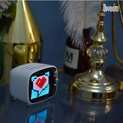 디붐 티부 레트로감성 LED시계 블루투스 스피커