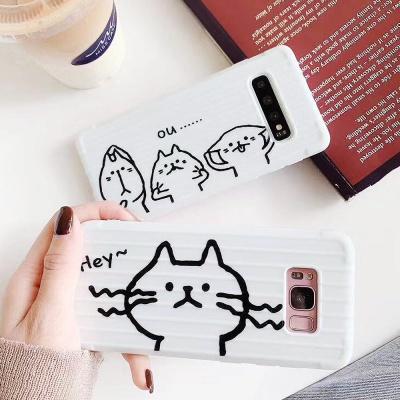 갤럭시S8 S8플러스 귀여운 캐릭터 캐리어 젤리 케이스