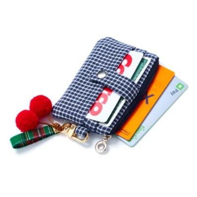 [촘촘] 미니 카드지갑