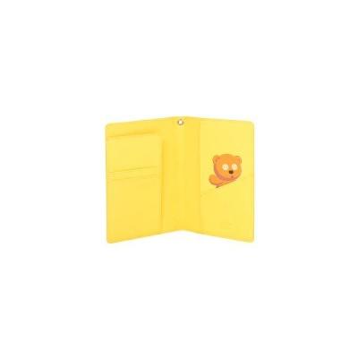 [미니언즈XOST] 밥과 곰인형 체크 여권지갑