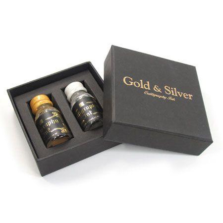 캘리그래피 잉크세트 (Gold and Silver)