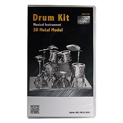 [3D메탈웍스] 드럼킷 (3DM540395) M22205 프리미엄팩 금속조립키트