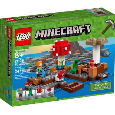 LEGO / 레고 마인크래프트 21129 버섯 섬