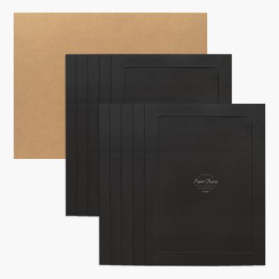 A3/12x17 포토프레임 스토리지 박스세트 -블랙10매