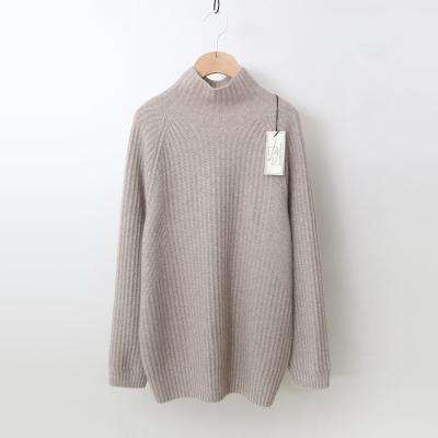 Laine Raccoon Wool Bobo Turtleneck Sweater