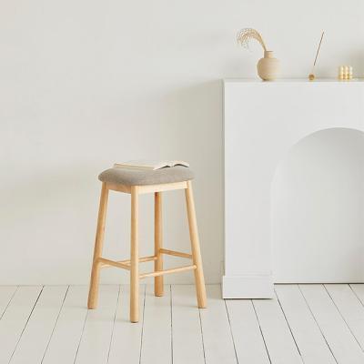 원목 멜로우 스툴 주방 아일랜드식탁 홈바 높은 의자