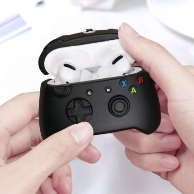 에어팟프로케이스 3세대 게임기 실리콘 425 블랙_PRO