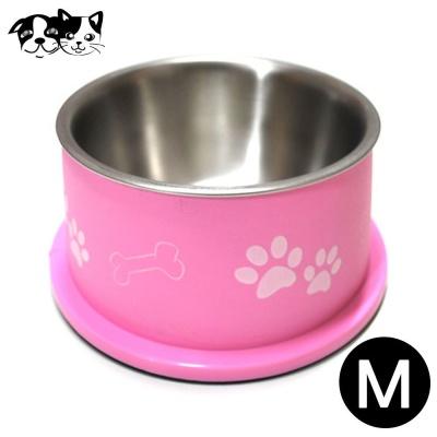 도기프랜드 발바닥 식기 핑크 (M) (500ml)