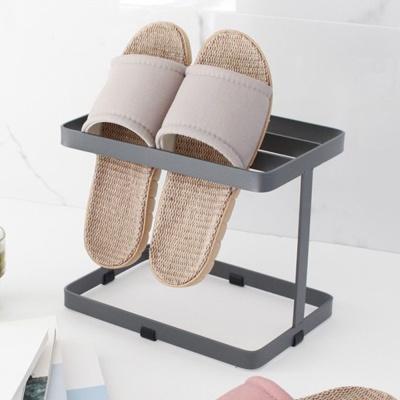 철제 실내화 거치대 거실 신발 꽂이 슬리퍼 벽걸이