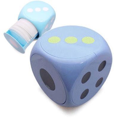 인텔리 원터치 주사위모양 60장 CD케이스-블루