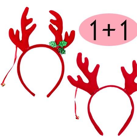 [1+1] Rudolph Hair Band