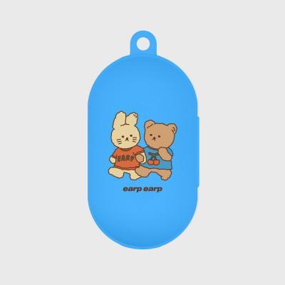 nini friends-blue(buds jelly case)