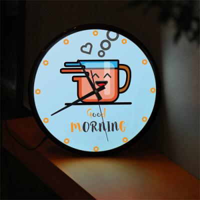 ng352-LED시계액자35R_좋은아침모닝커피한잔