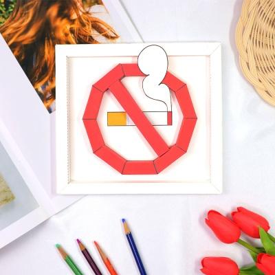 금연기호 일반형 액자 만들기 패키지 DIY (5인용)