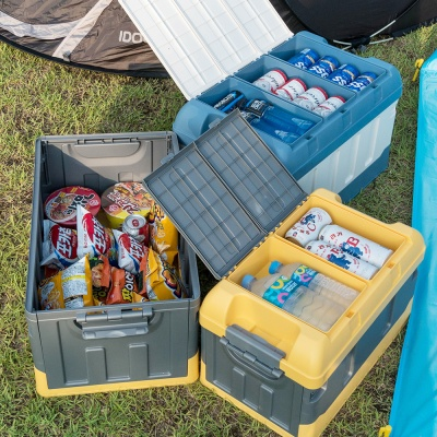 캠핑이 간편해지는 생활백서 폴딩 캠핑 박스