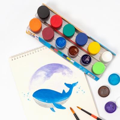 포스터물감 칼라 6색세트 UATCR0130