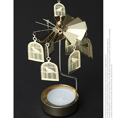 ROTARY CANDLE HOLDER BIRDCAGES[캔들홀더]