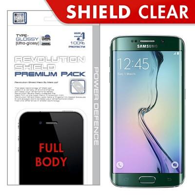 [프로텍트엠/PROTECTM] 갤럭시S6 엣지/GALAXY S6 edge/SM-G925 레볼루션쉴드 프리미엄팩 전신보호필름+액정보호필름