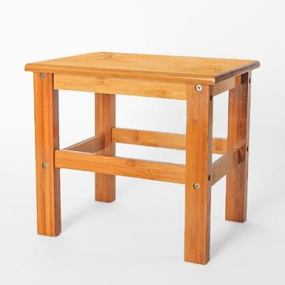 미니멀 대나무 선반겸 의자 1P