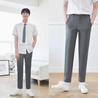 [빅사이즈] 하복 스판 진그레이 교복바지(남자) ~6XL