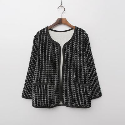 Tweed Reversible Jacket - 덤블안감,양면