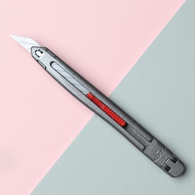 아날로그 크롬 커터칼 락 30도 아트 카터칼 칼날