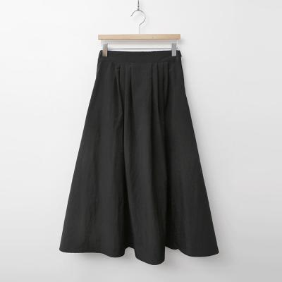 Nylon Full Long Skirt