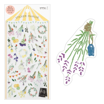 Sticker Marche - Dried Flower