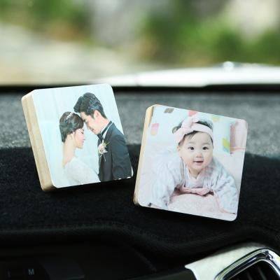 고급 나무 액자 사진인쇄 (차량용)
