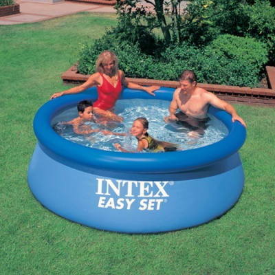 INTEX 에어 가족 풀장(244x76cm) 인텍스 대형풀장