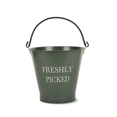 Freshly Picked Garden Bucket
