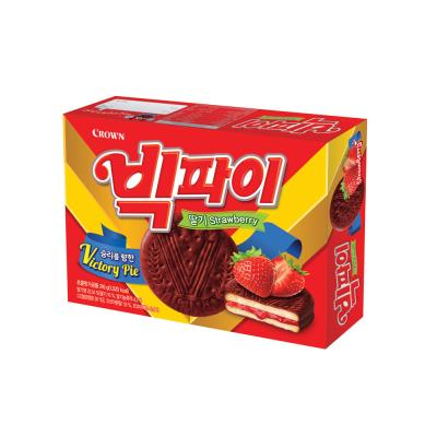 크라운 빅파이 딸기 (중) 216g