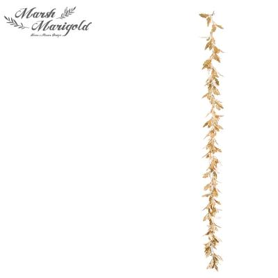골드 잎사귀 가랜드1 FM415-0196