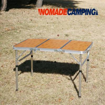 노마드  밤부 3 단캠핑테이블 (90x60)/캠핑테이블