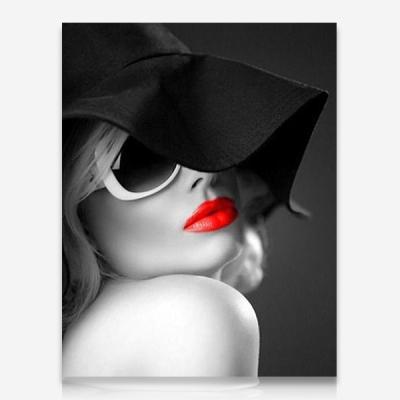 붉은 립스틱 DIY 보석십자수 십자수 비즈세트