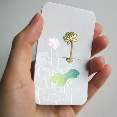 연꽃 - 북마크 택카드