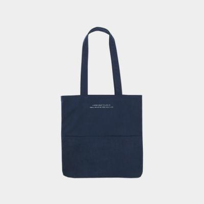 Rosette Flap Pocket bag navy blue 로제트 플랩 포켓백 네이비블루