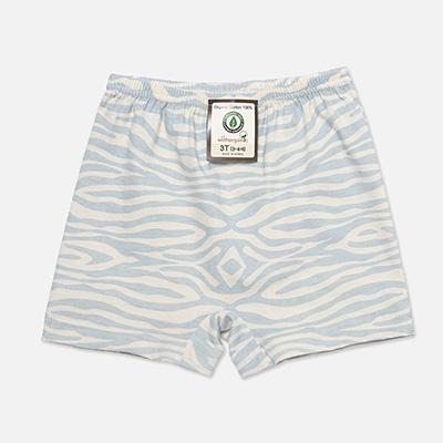[위드오가닉]오가닉 남아사각팬티 얼룩무늬블루
