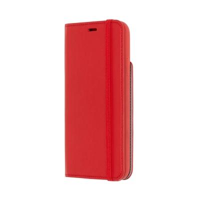T 아이폰X-북타입 소프트 터치케이스리딩/스칼렛레드