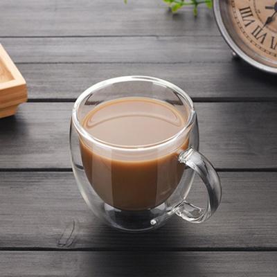 [로하티]크리스 이중 유리컵(150ml)/ 내열유리컵