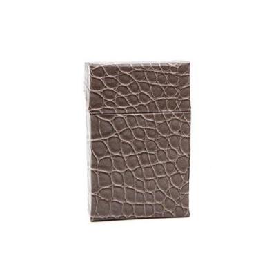 브라운 담뱃케이스 악어무늬일반형 담뱃갑케이스