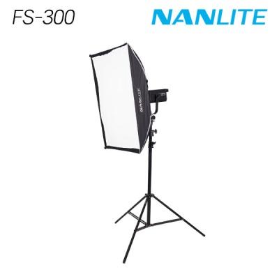 난라이트 FS-300 소프트박스 90x60 원스탠드 세트
