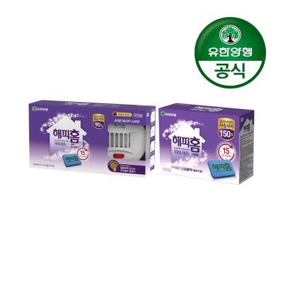 해피홈 New 파워매트형전기훈증기+리필90매+리필150매